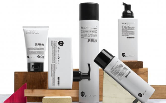 Number 4 High Performance Hair Care