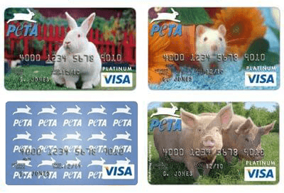 The PETA Visa® Platinum Rewards Card