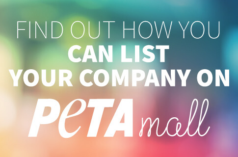 List your company on PETA Mall