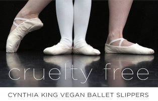 Cynthia King Vegan Ballet Slippers