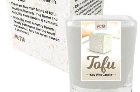 Tofu-Scented Candle