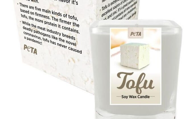 Tofu-Scented Candle